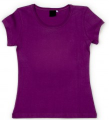 Women's purple T-shirt